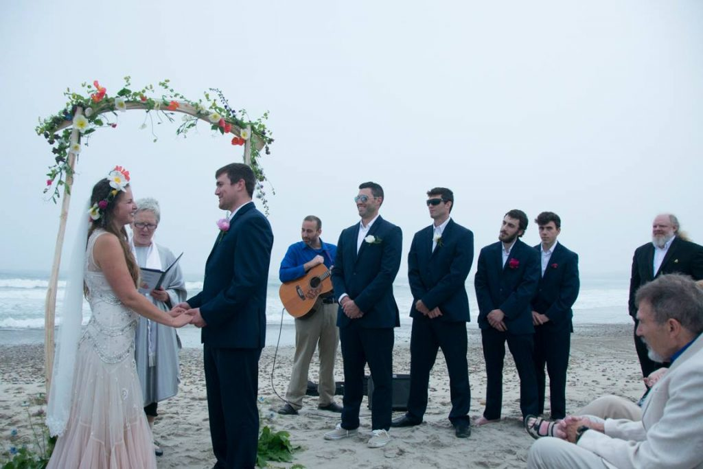 wedding officiant rhode island alyson arnold VioletandJohn1